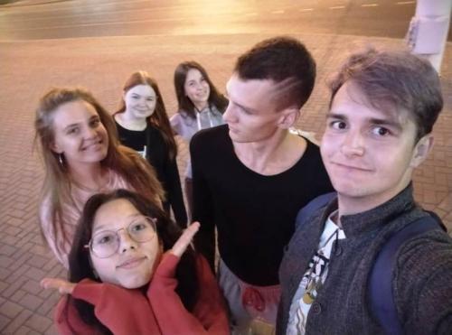 Дмитриенко Кристина Знакомство с одногруппниками