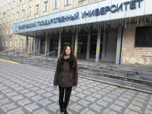 Дмитриенко Кристина - студентка Кем ГУ