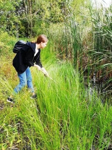 Природоохранная акция на озере Ковалёвском
